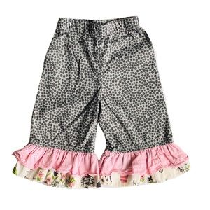 Hannah Kate Ruffled Pants Size 2
